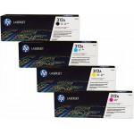 Заправка картриджей HP CF380A, CF381, CF382, CF383